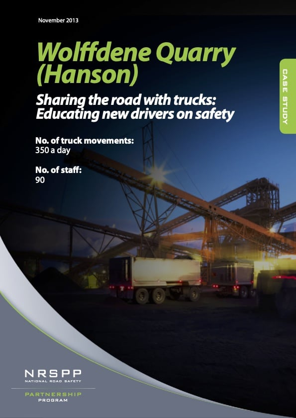 Hanson - Sharing the road with trucks