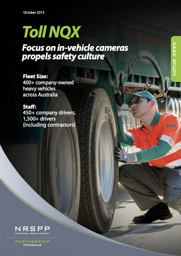 Toll Focus on in-vehicle cameras propels safety culture