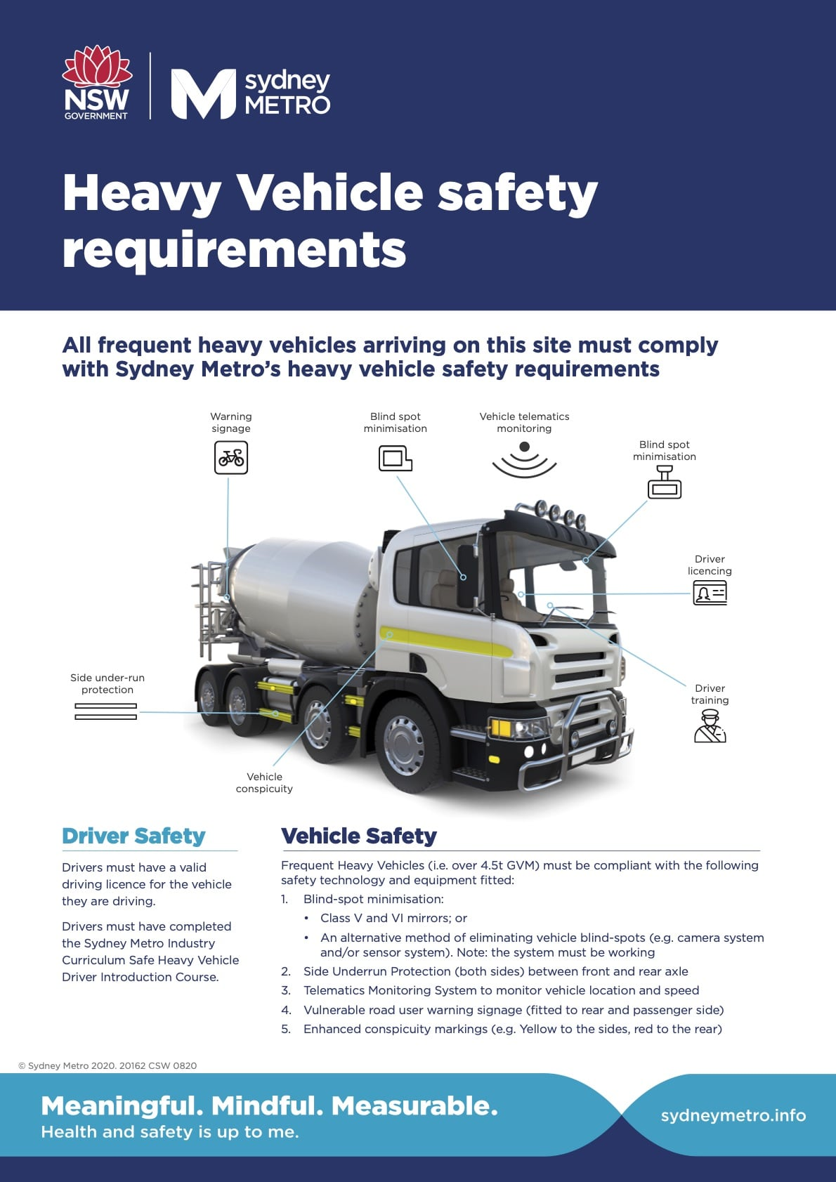 Heavy Vehicle Specifications