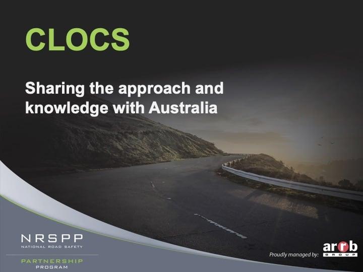 NRSPP ARRB Webinar CLOCS