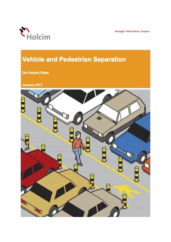 Vehicle and Pedestrian Separation