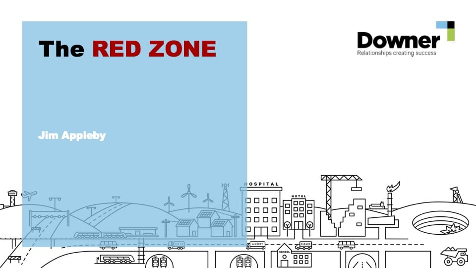Jim Appleby - Downers Approach to Plant Pedestrian Interface, The Red Zone