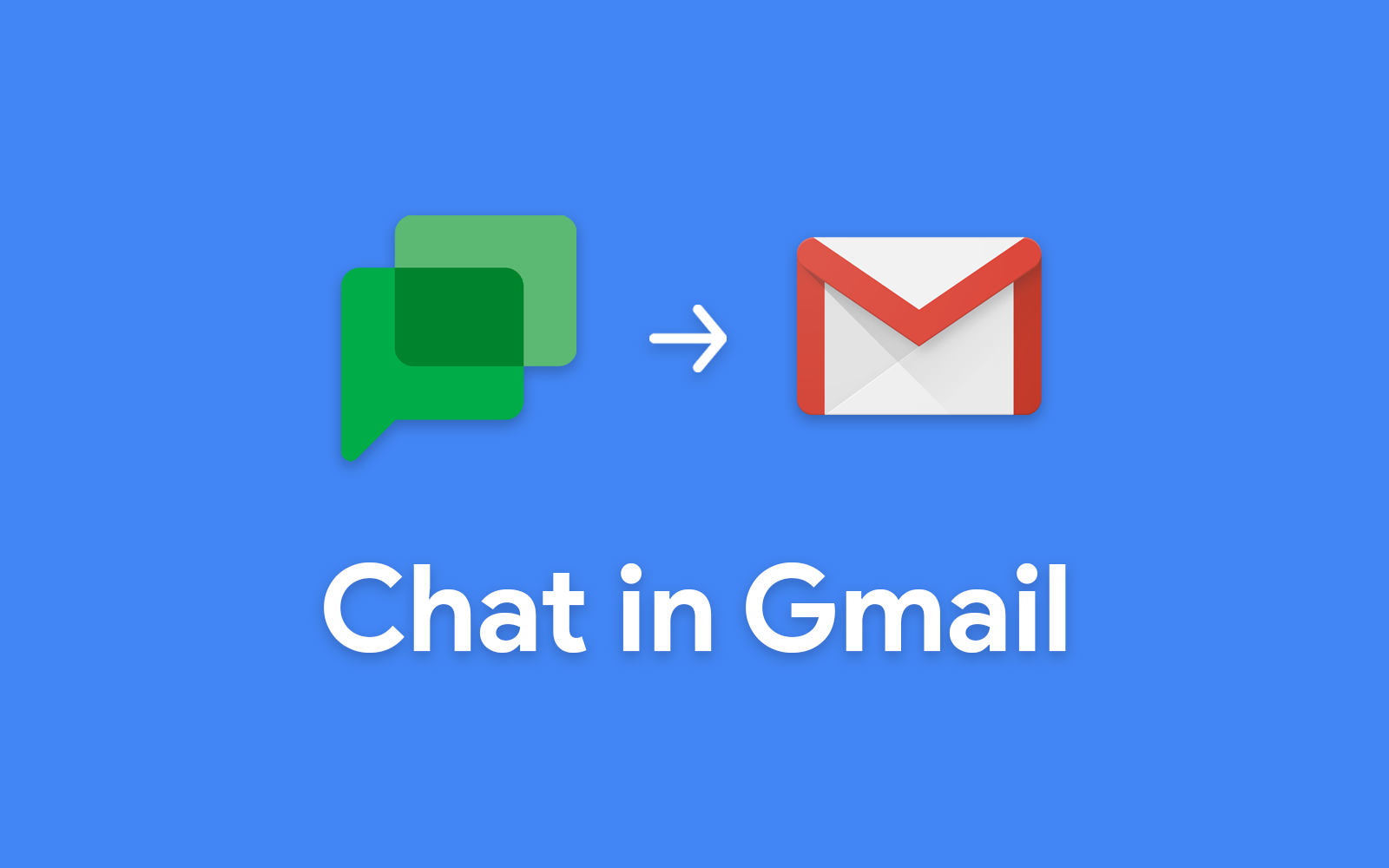 Green Text Messaging icon pointing to Gmail icon