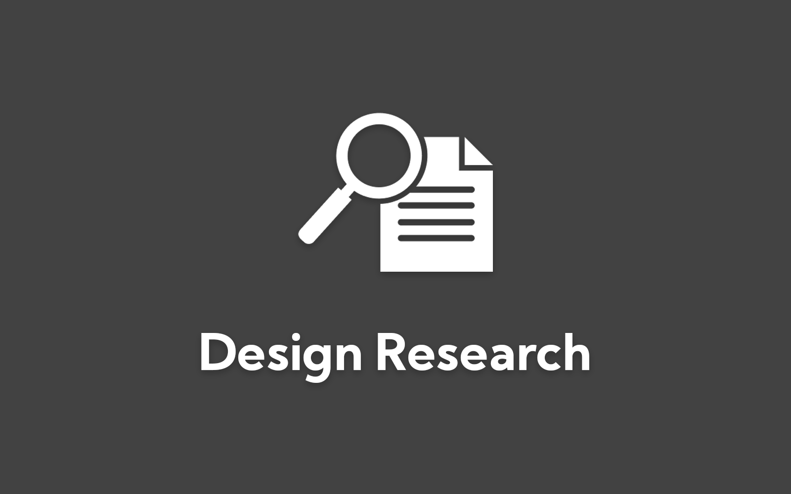 Design research card (disabled)