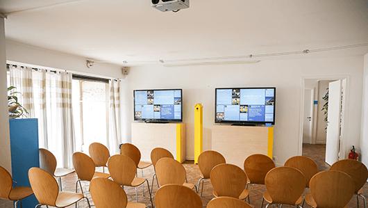 Customer meeting room