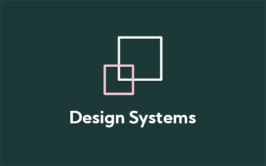 Design Systems icon on green background with 'Design Systems' text