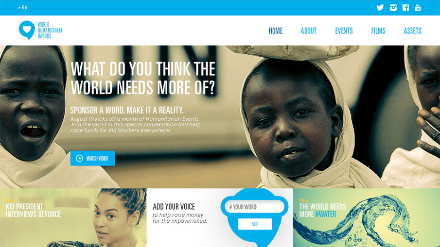 United Nations World Humanitarian Day website