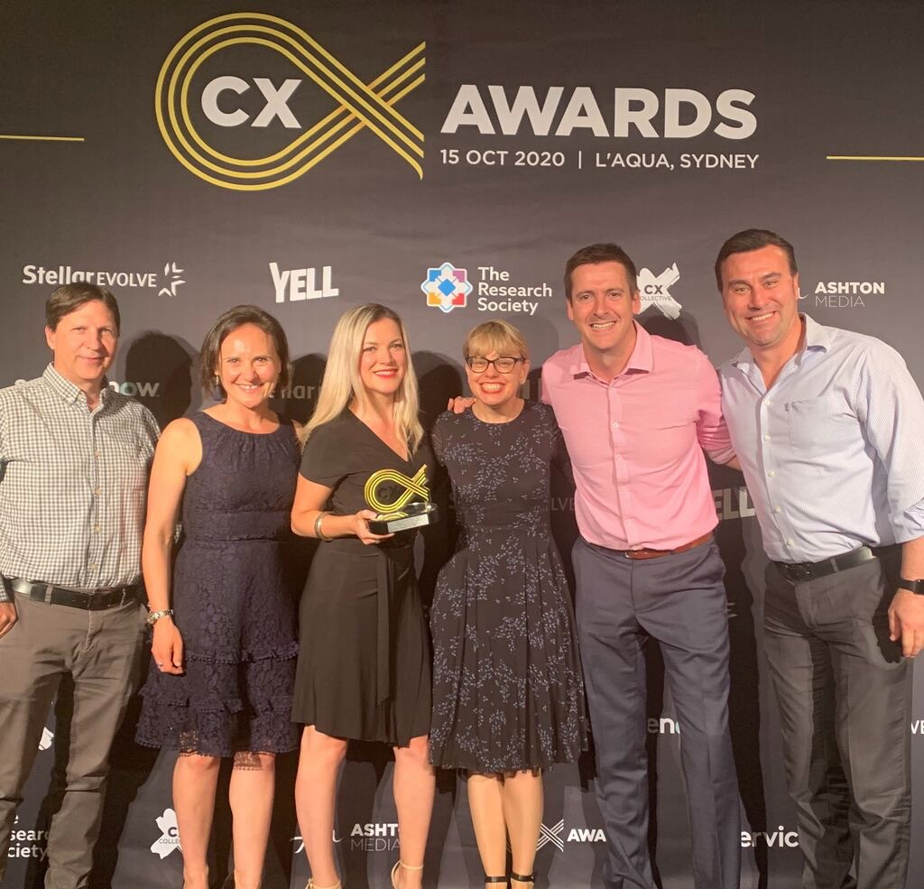 Winning Excellence in the Public Sector, the Citizen Experience Award at The CX Awads 2020