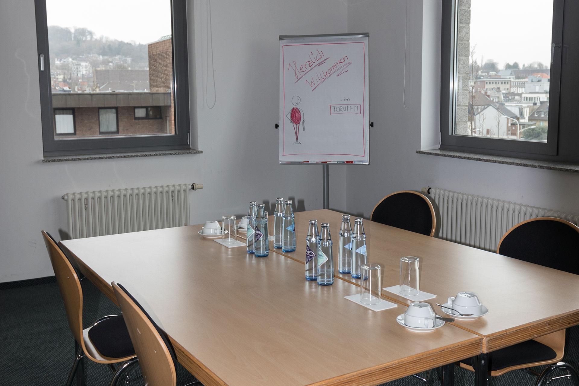 Ansicht Konferenzraum Stadtblick