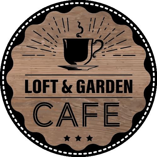 Logo des Loft & Garden Cafe in der Mayerschen Buchhandlung Aachen