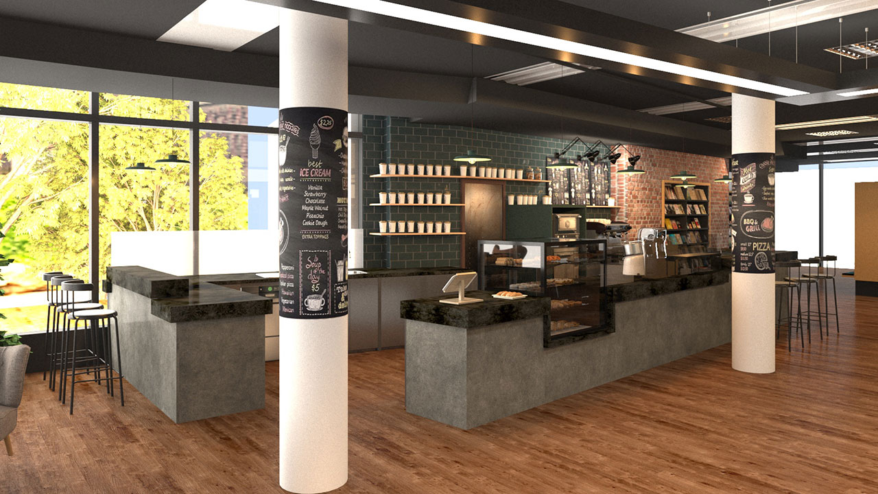 Loft & Garden Cafe in der Mayerschen Buchhandlung Aachen