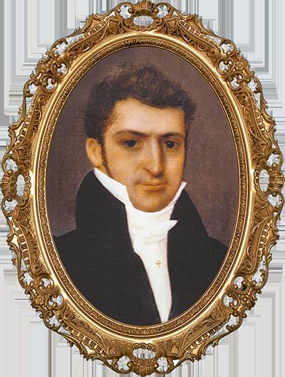 Portrait von J. A. Mayer