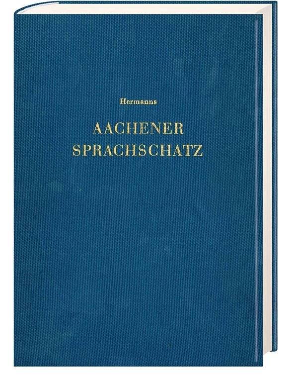 """Buchdeckel des Buches """"Aachener Sprachschatz"""""""