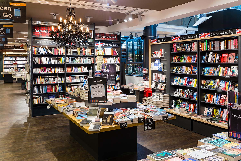 Internationale Bücher in der Mayerschen Buchhandlung Aachen