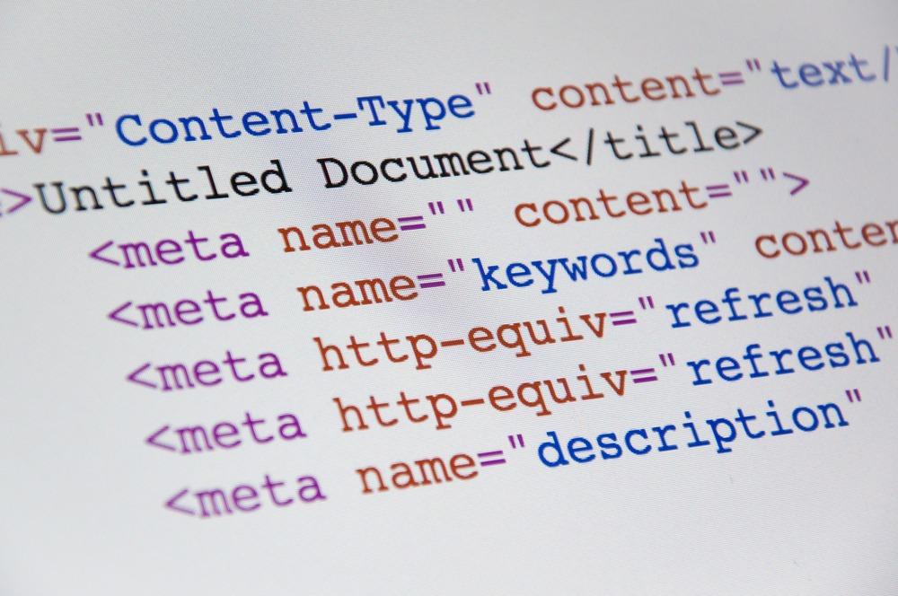 Inserting meta tags