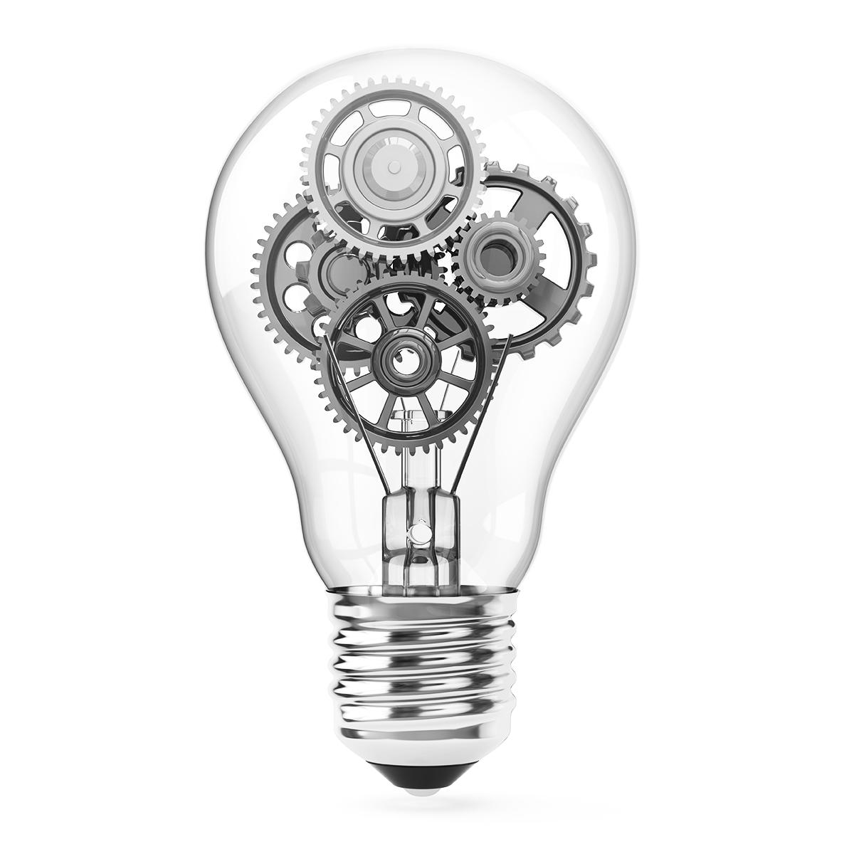 Gear inside Lamp image