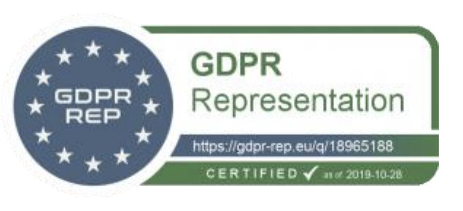 GDPR certified logo