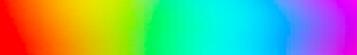 the word unicorn in rainbow colors