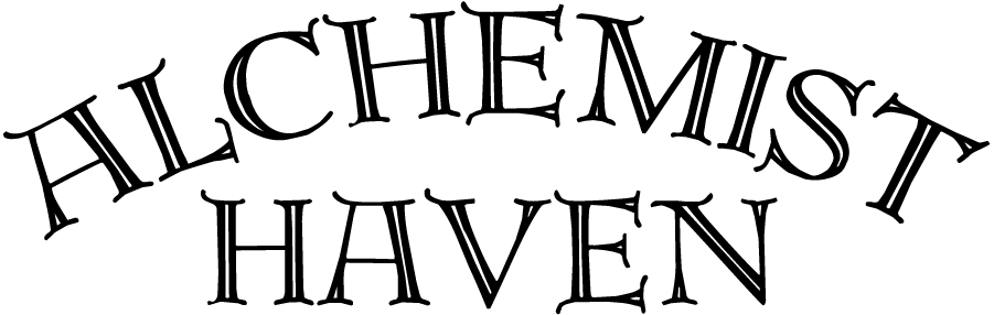 Alchemist Haven Logo Black