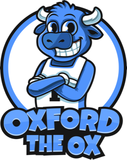 Oxford The Ox Cartoon Character