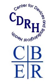 CDRH Center for devices and Radiological health logo