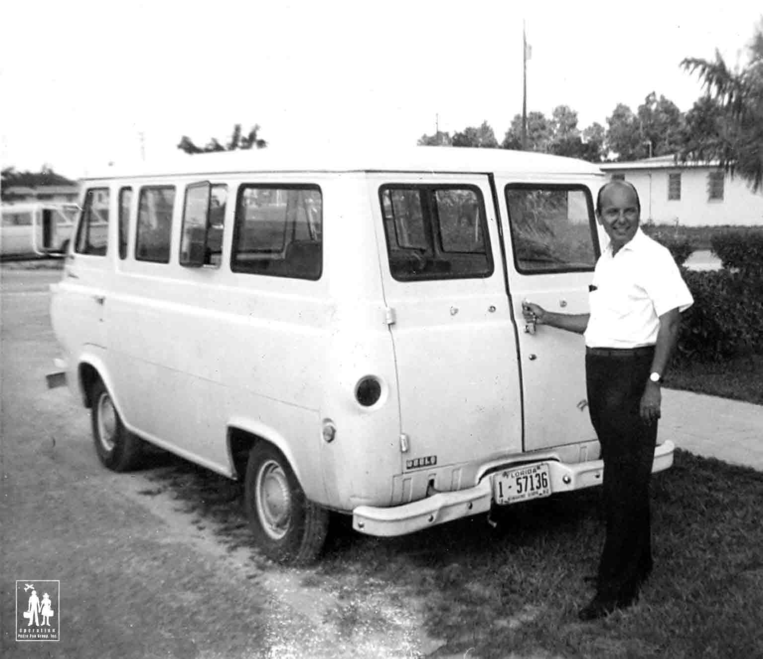 Florida City Camp transportation Van