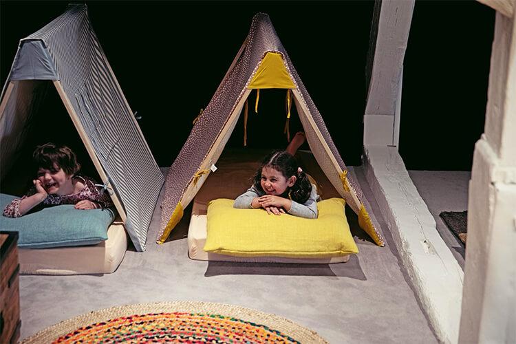 Tent Kid Maisons de Campagne