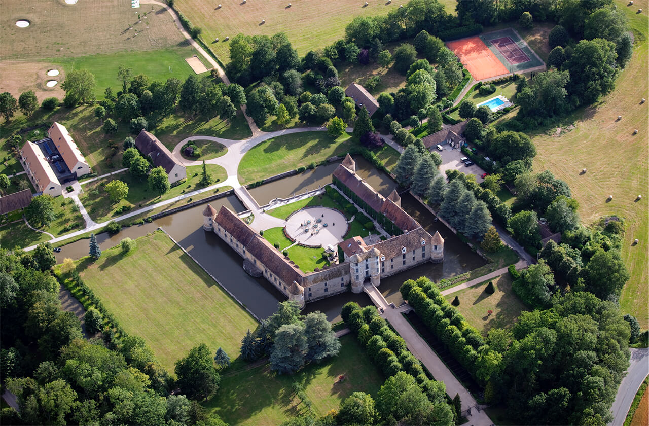 Hotel from Sky Maisons de Campagne