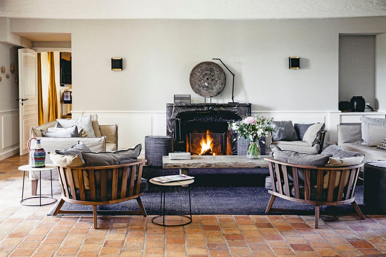 Maisons de Campagne  Fireplace