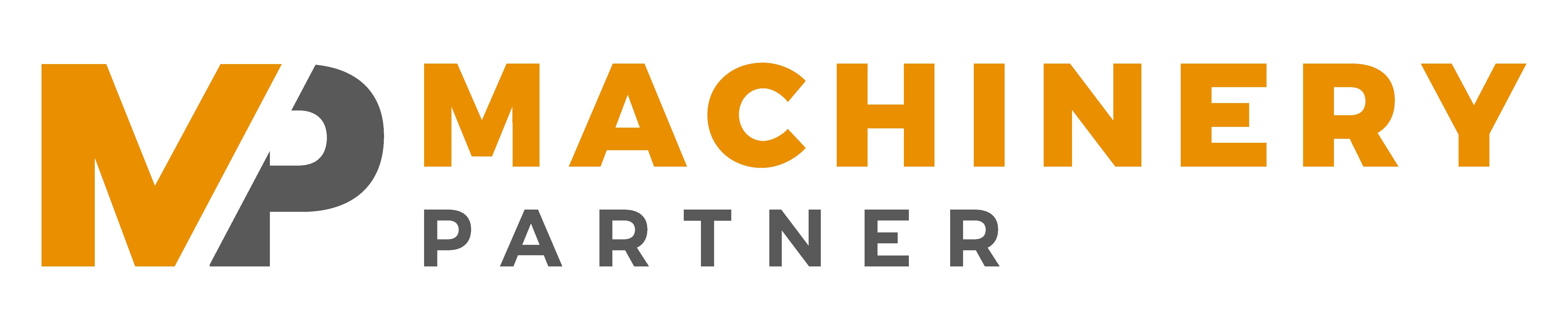 Machinery partner heavy machinery marketplace logo