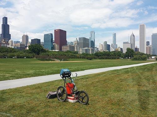 GPRS Locates Utilities in Chicago IL