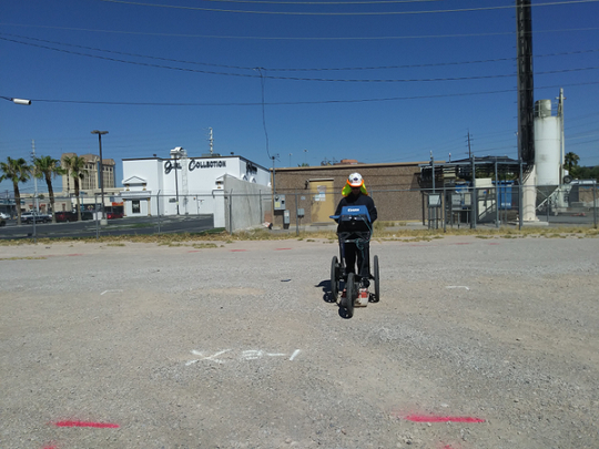 Ground Penetrating Radar Used To Investigate Outside For Utilities - AZ