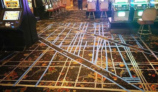 GPRS Locates Post Tension Cables at Casino - Colorado