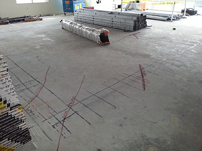 Concrete Scanning Services At Office Building – Georgia