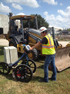 GPRS Called To Mark And Locate Underground Utilities in Sugar Land, Texas
