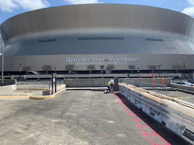 GPRS Locates At The Mercedes - Benz Superdome In New Orleans, Louisiana