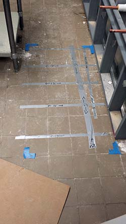 GPR Used To Scan Floor To Locate Reinforcements And Conduit – Missouri