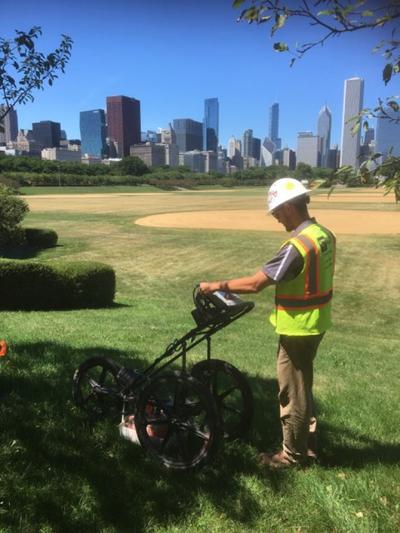GPRS Utility Locating – Chicago, Illinois