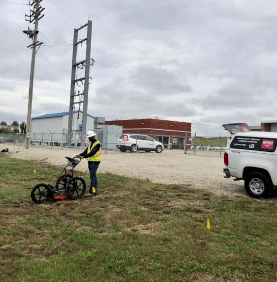 GPRS Locates Private Utilities St. Louis, Missouri