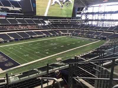 GPRS Scans for Conduits at Football Stadium - Dallas, TX