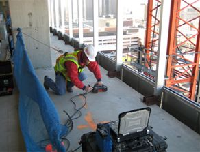 Concrete Scanning and Post-Tensioned Cable Locating in Casino