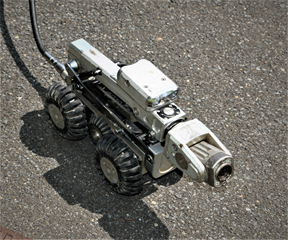 The Robotic Crawler for Video Pipe Inspection