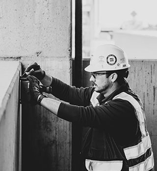 X-raying is a safe method to scan concrete