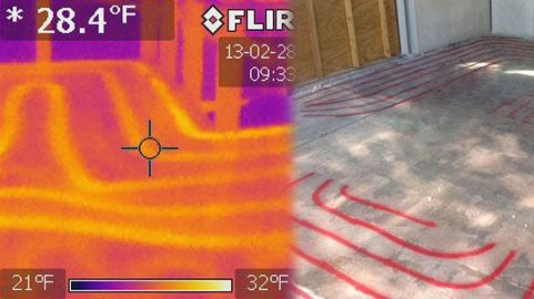 Infrared thermal scan 3