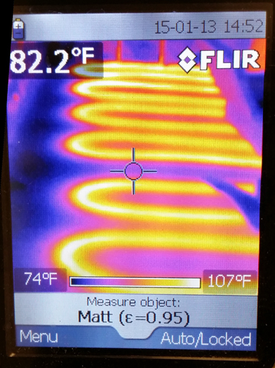 Infrared thermal scan 2