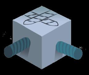concrete block with rebar