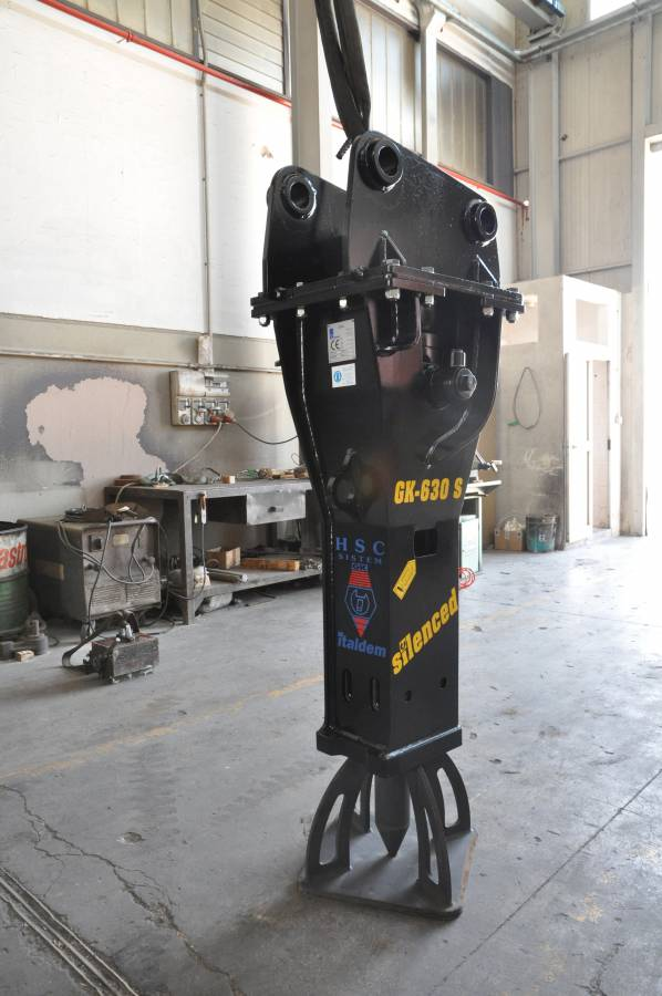 screencore gk630s hydraulic breaker attachment for excavator