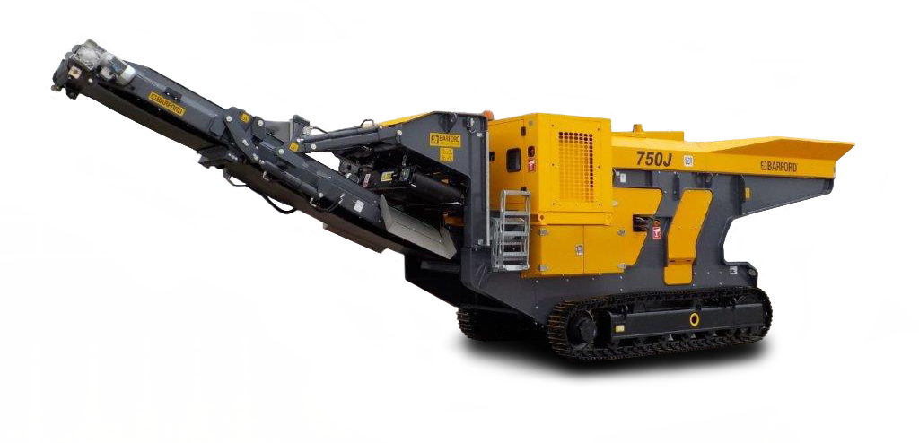 Tracked Mobile Jaw Crusher