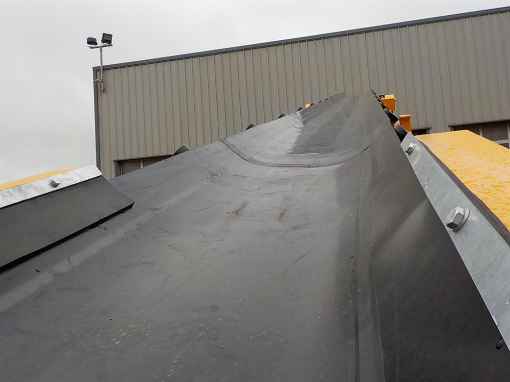 65' Tracked Radial Conveyor