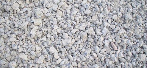 Inert mixed rocks and soil